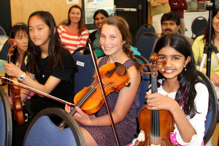 MTAC San Mateo Violin Students