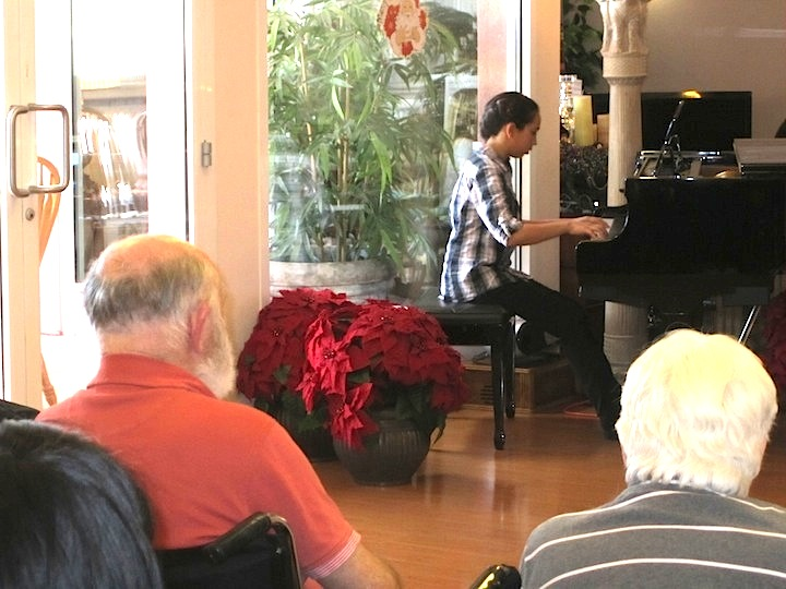 community outreach program brings music to community centers